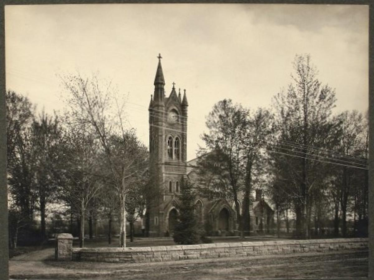 Historic Image of Trinity Church from Potsdam Public Museum Archives